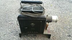 Bausch And Lomb Optical Balopticon Slide Projector 41-23-0 Antique Magic Lantern
