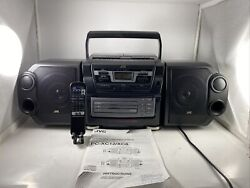 Vintage Jvc Cd Portable Component System Pc-xc12 Boombox/one Owner/serviced