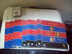 2007 - 2016 Presidential 1 Coin Uncirculated Sets Sealed And Unopened 10 Sets