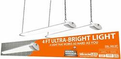 Miracle Led 602032 4-foot Rough Service Light 2-pack White
