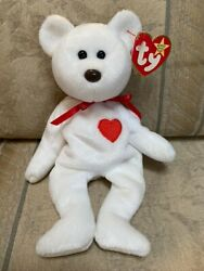 Ty Valentino Beanie Baby Limited Ed. Brown Nose 1993 With Hang Tag And Tush Tagandnbsp