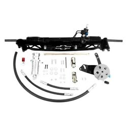 For Chevy C10 Pickup 67-72 Unisteer Hydraulic Power Steering Rack And Pinion Kit