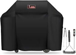 Grill Cover Weber Genesis Burner Grill Including Brush Tongs Thermometer