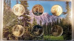 2005 Westward Journey Nickel Set - 6 Coin Set - Bison And Ocean View Pd And S
