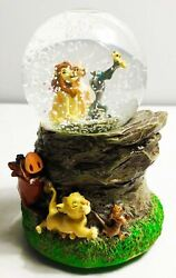 Disney Lion King Musical Glitter Snow Globe A Dream Is A Wish Your Heart Makes
