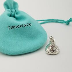 And Co. 925 Sterling Silver Chocolate Kiss Hershey Charm Pendant Pouch