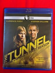 The Tunnel Complete First Season Blu-ray 2016 Region A Free Shipping
