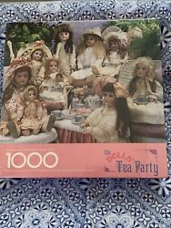 Springbok The Doll's Tea Party 1000 Piece 24 X 30 Jigsaw Puzzle New Sealed