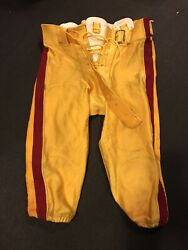 Game Used Usc Trojans Pants Game Worn Pants Jersey Lonnie Ford