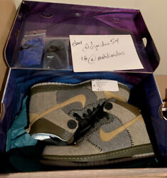 Ds New Nike Sb Dunk High Coraline Mens Size 10.5 2009 Limited Sample 1 Of 85