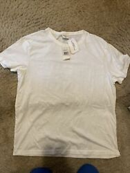 Vintage Polo By White T-shirt Size Large Nwt