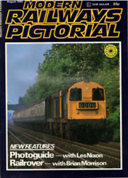 Modern Railways Pictorial Magazine Aug 1982 - Class 73s. See Contents Scan