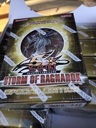 1x Yugioh 5d's Storm Of Ragnarok Special Edition Se One New Sealed Deck