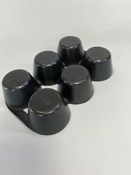 Antique Erie Griswold Cast Iron 6 Cups Muffin Pan No. 18 6141. Excellent
