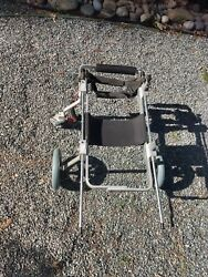 Used Medium Quad Full Support Four 4 Wheel Best Friend Mobility Dog Wheelchair