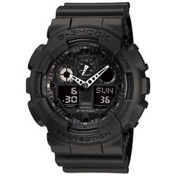 Casio G-shock Analog And Digital Analog And Digital Ga-100-1a1jf Watches [import]