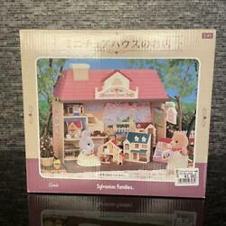 Sylvanian Families Miniature House Pink Roof Shop Mi-41 Calico Critters Epoch