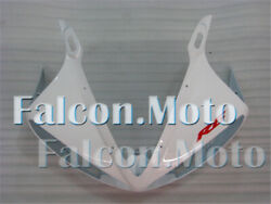 White Front Nose Cowl Upper Fairing Fit For Yzf R6 2003-2005 R6s 2006-2009 Aaj