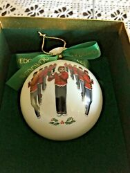Wedgwood 12 Days Of Christmas Ornament 11 Pipers Piping