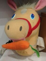 Vintage Toy Talking Horse Soft Toy Hobby Horse By Mattel
