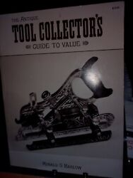Rare Vintage Books Antique Tool Collector's Guide To Value Woodworking Book ☆usa