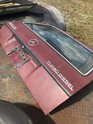 79-85 Mercedes 300td Wagon Estate Tailgate Trunk Boot Lid