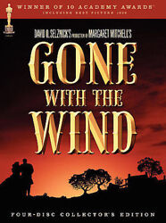 Gone With The Wind Dvd 2004 4-disc Set