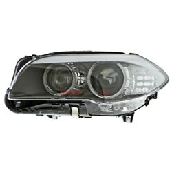 New Hid Headlight Lens And Housing Left Fits 2010-13 Bmw 528i Xdrive 63117271903