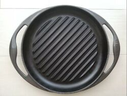 Le Creuset Grill Rondo Cookware Ih Compatible 26cm = 66.04in Midnight Graym3760