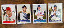 Topps 2021 Throwback Thursday Set 1-4 1961 Baseball With All 4 Ssp Cards