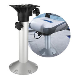 Marine Adjustable Pedestal 19 To 25 In Boat Seat With 360 Degree Swivel Fo-4476