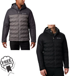 Columbia Grand Trek Hooded Down Jacket - Two Colors Available - Msrp 199