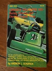 Formula Vee/super Vee-racing, History, And Chassis/engine Prep Softcover Schupack
