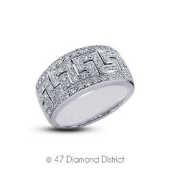 3/4ct Tw F Vs1 Round Cut Earth Mined Certified Diamonds 14k Gold Cocktail Ring