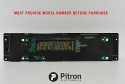 Genuine Whirlpool Double Oven, Control Board 8302319 8302315 Display At 75