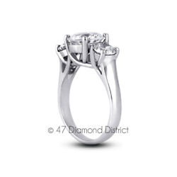 1.80 Ct H-si1 Round Natural Certified Diamonds 14k Gold Classic Engagement Ring