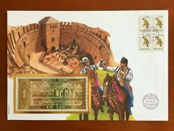 Amazing First Day Envelope With Typical Figures Moldova 1995