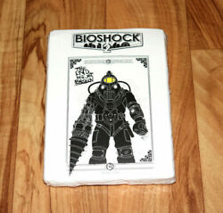 Bioshock 2 Extremely Rare Promo Pre Order T-shirt Delta Big Daddy Xbox 360 Ps3