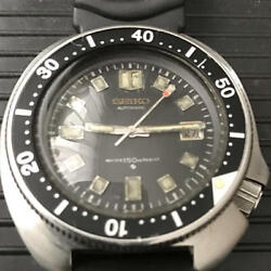 Seiko 2nd Diver Uemura Model 6105-8110 Automatic Menand039s Watch Used