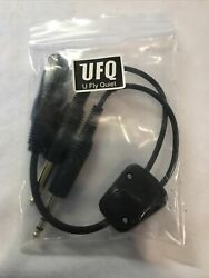 Bose A20 Noise Cancelling Headset Aviation Airplane 5 Pin Xlr Dual Plug Adapter