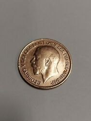 1918 Great Britain 🇬🇧 Full Strike One Penny