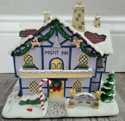 Hawthorne Village Rudolph's Christmas Town Misfit Inn Used Condition