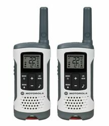 Brand New Motorola T260 Talkabout Rechargeable 2-way Radio Gray