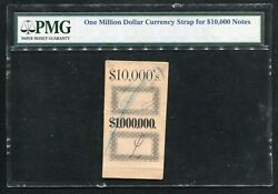 One Million Dollar Currency Strap For 10000 Notes Pmg Very Rare And Unique