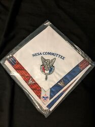 Boy Scouts Nesa National Council Committee Eagle Scout Neckerchief