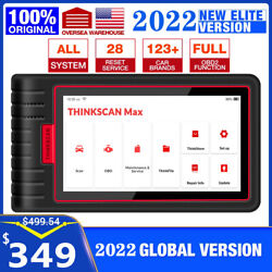 Thinkscan Max Obd2 Scanner Auto Diagnostic Tool Code Reader All System Immo Tpms
