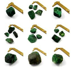 100 Natural Green Emerald Rough Free Shipping Mineral Specimen Mng3462-mng3489
