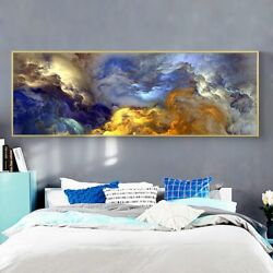 Abstract Cloud Canvas Painting Canvas Wall Art Home Decor Print Art Wall Picture