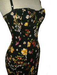 Dolce And Gabbana Floral Print Dress Size 42