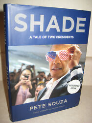 Shade Pete Souza Signed 1st Edition First Printing Photography President Obama